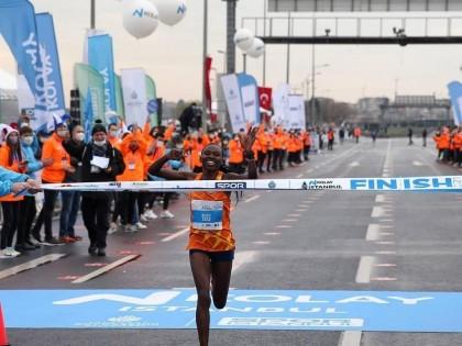 11°  record del mondo di mezza maratona per Rosa Associati con Ruth Chepngetich