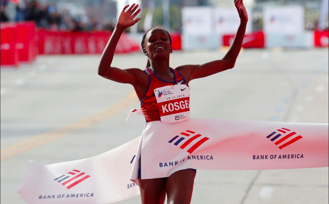Brigid Kosgei - World record Rosa Associati