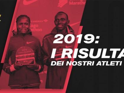 I risultati dei nostri atleti in questo strepitoso 2019.
