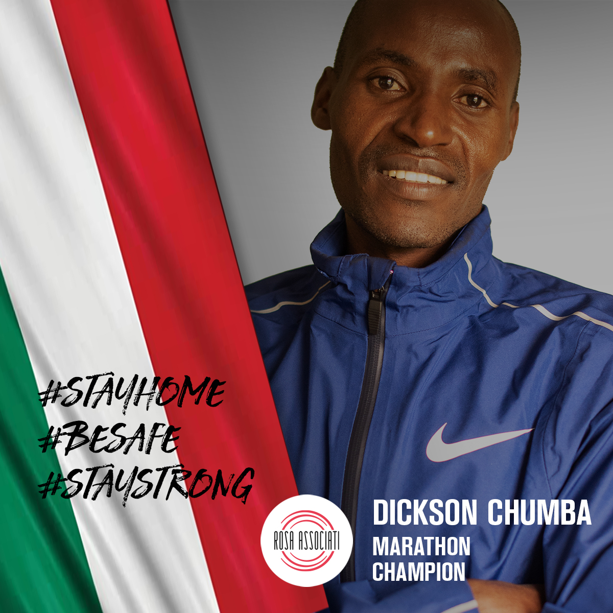 21 2020 - Campagna social We can win this race together-Dickson Chumba