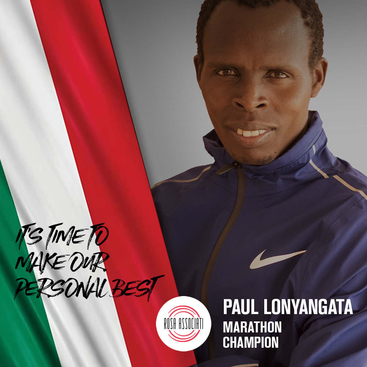 21 2020 - Campagna social We can win this race together-Paul Lonyangata