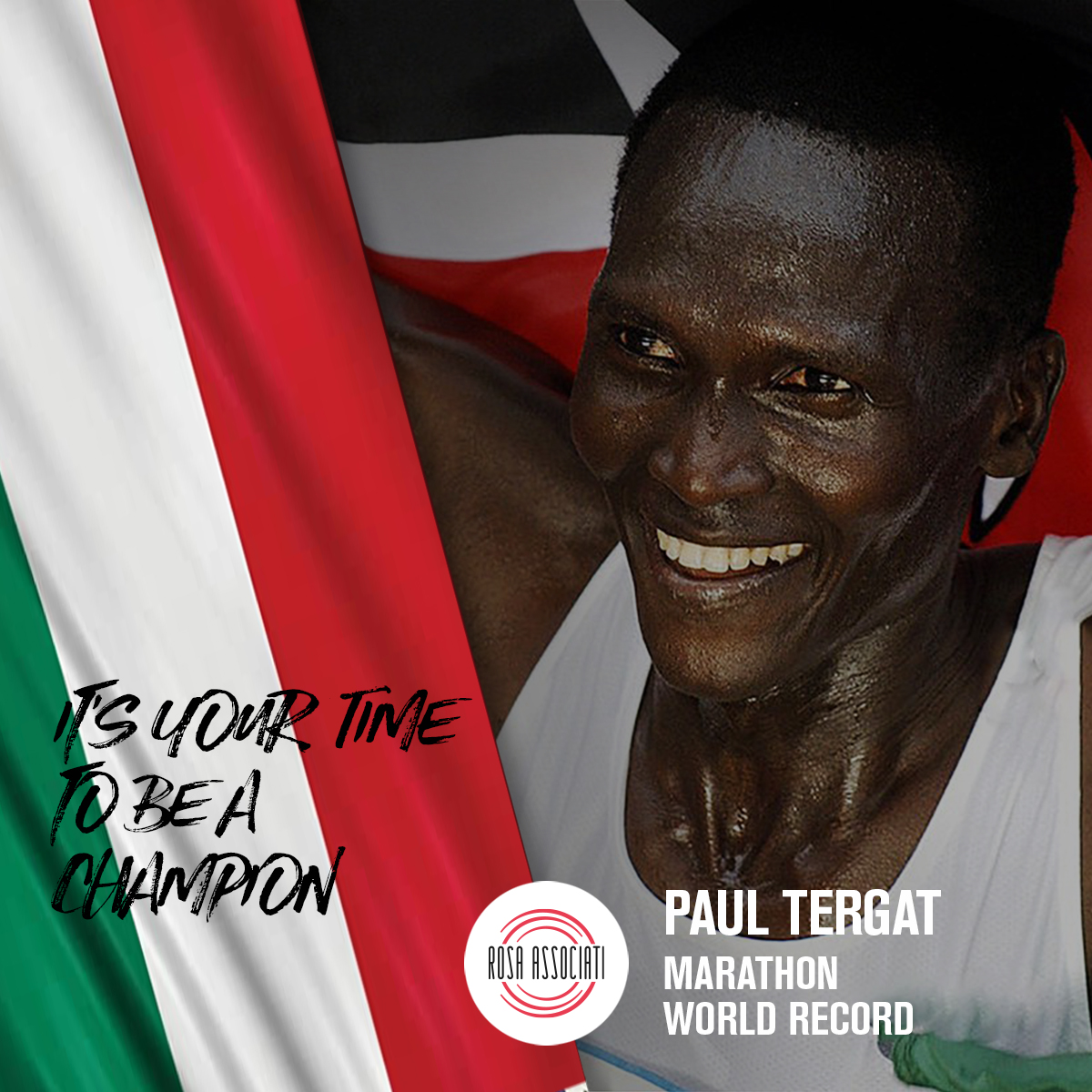 21 2020 - Campagna social We can win this race together-Paul Tergat