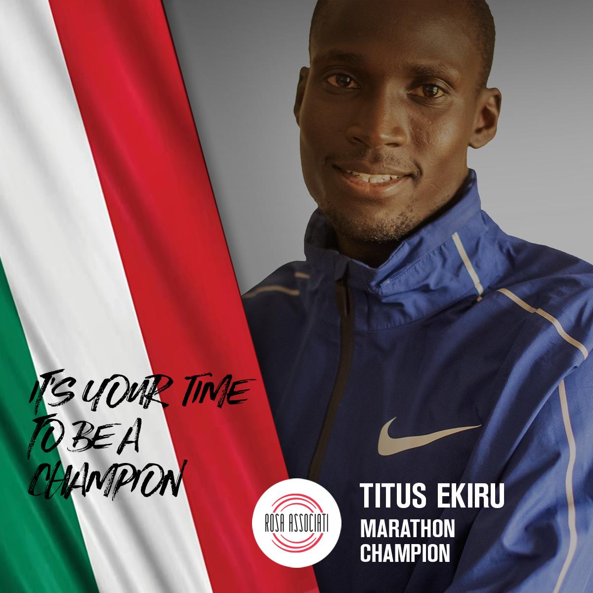 21 2020 - Campagna social We can win this race together - Titus Ekiru