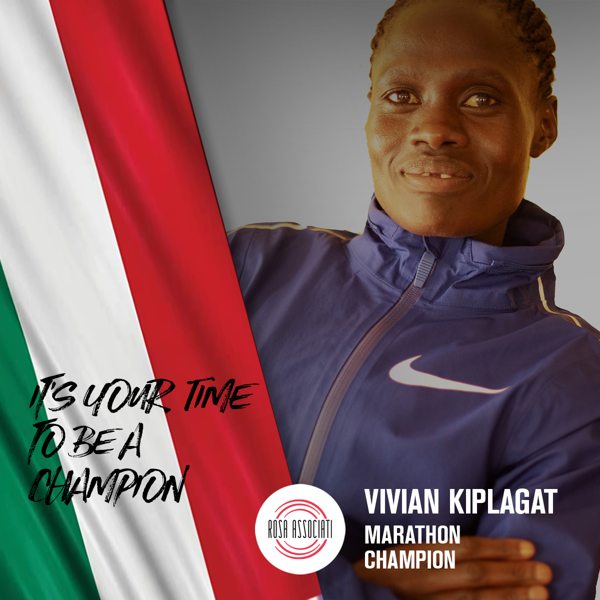 21 2020 - Campagna social We can win this race together-Vivian Kiplagat