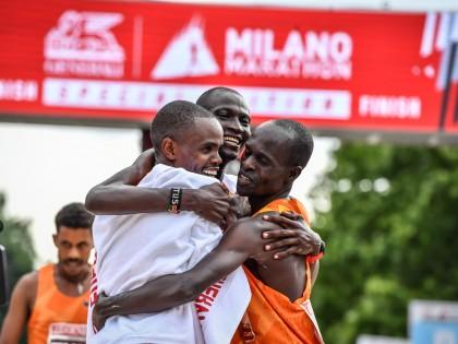 1°-2°-3°  posto per Rosa Associati alla Generali Milano Marathon 2021